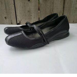 Cole Haan NikeAir Mary Jane work Shoes Sz 8 Black
